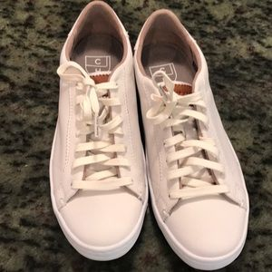 Cole Haan white leather sneaker, size 6